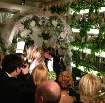 Фотографию первого поцелуя Пугачевой и Галкина